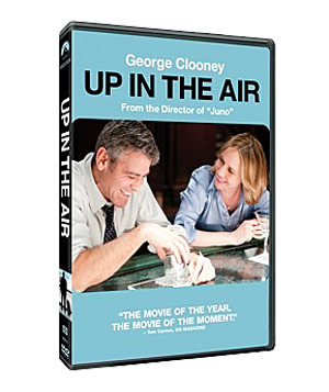 """Up in the Air"" DVD"