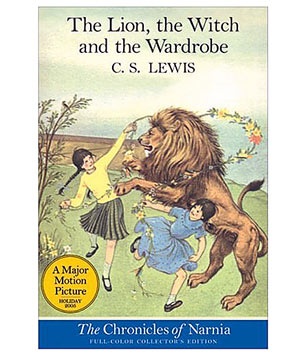 """The Lion, the Witch, and the Wardrobe,"" by C.S. Lewis"
