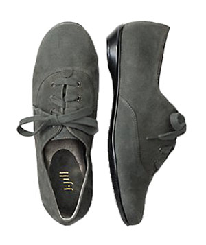 Suede Oxfords by J. Jill