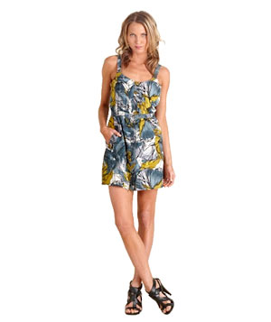 Abstract Floral Tank Dress by Martin + Osa