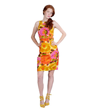 Multi Floral Cocktail Dress by Muse