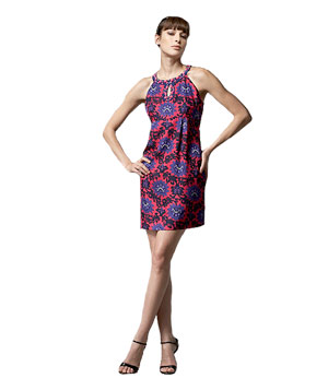 Silk Floral-Print Dress by Phoebe Couture