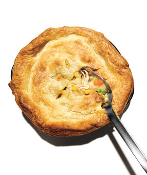 Creamy Chicken and Corn Potpie
