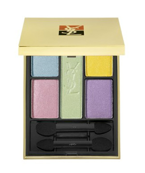Yves Saint Laurent's 5 Colour Harmony for Eyes