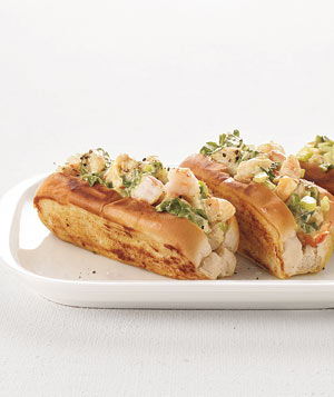 Curried Shrimp Rolls