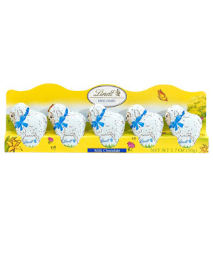 Lindt Mini Milk Chocolate Lambs