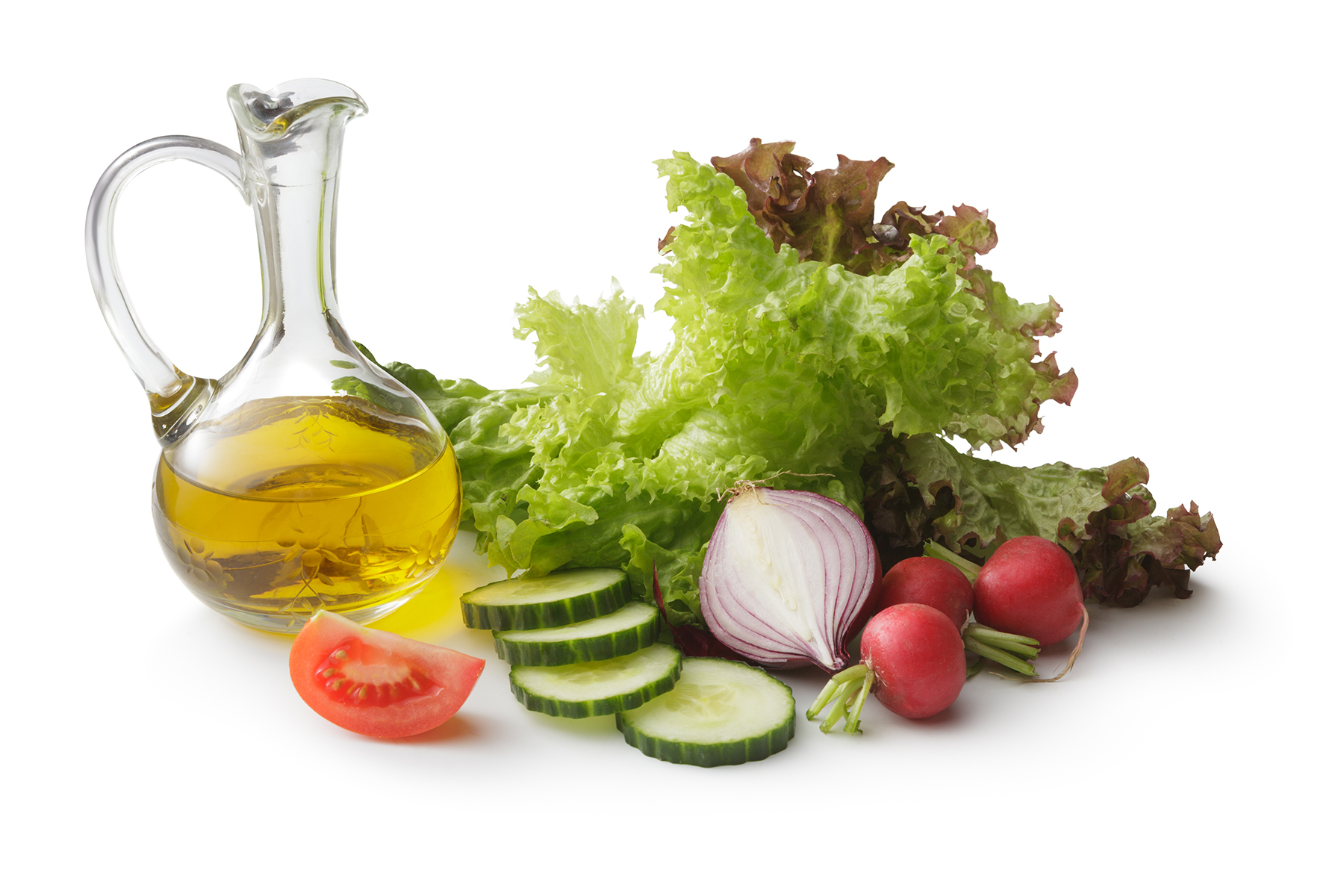 Salad Dressing and Salad Ingredients