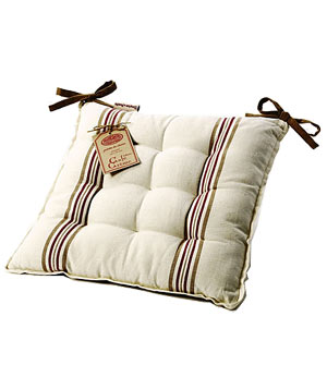 Café Crème seat cushions by American Country Home Store