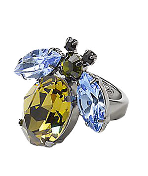 Stone Bee Ring by Michelle Trachtenberg for Poppy