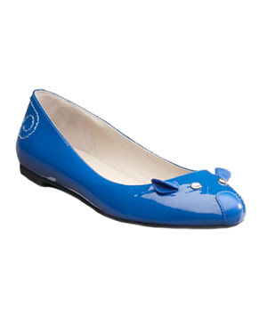 Patent Leather Mouse Flats by Marc by Marc Jacobs