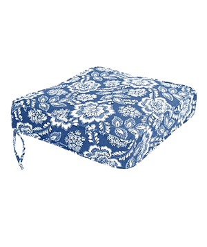 Blue/White seat cushions by Target