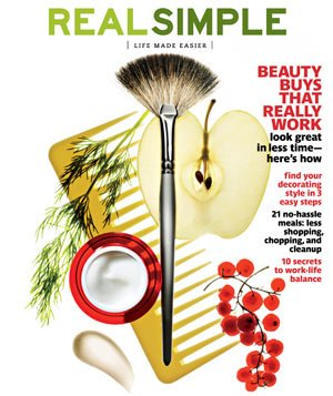 March 2010 Real Simple Cover