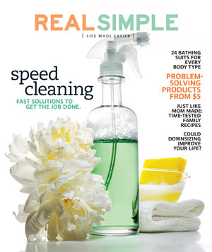May 2010 Real Simple Cover