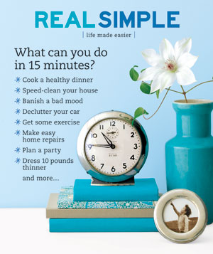 Real Simple Cover:  January 2007