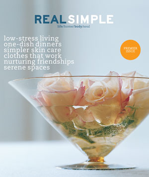 Real Simple April 2000 cover