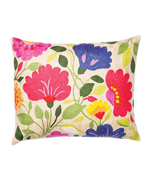 Purple Tulips pillow