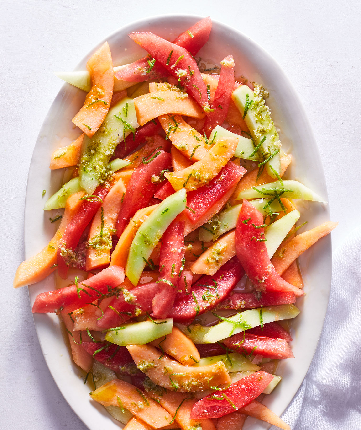 Ginger-Lime Melon Salad