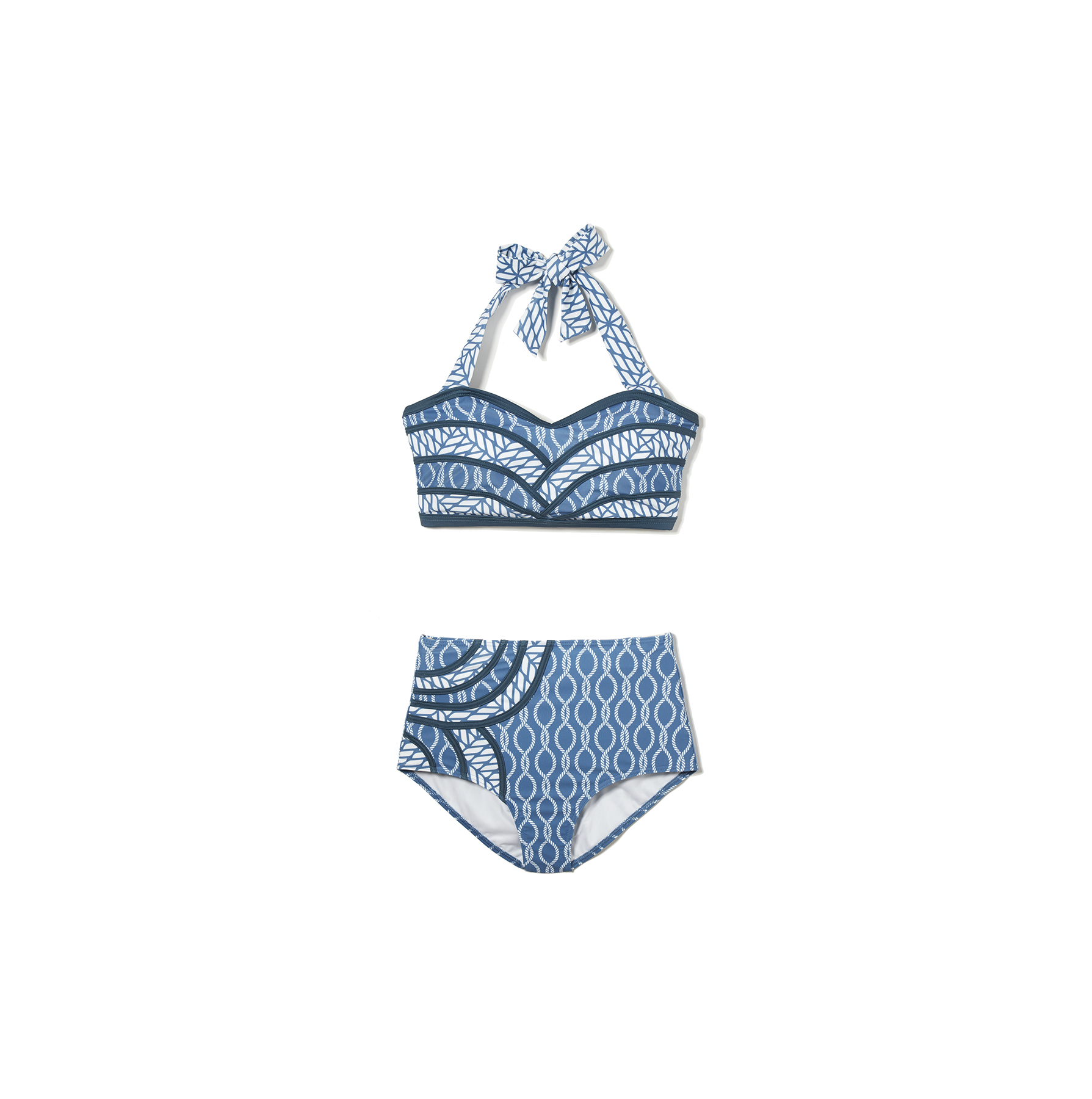 Modcloth Set The Serene Bikini