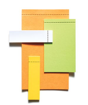 Super Sticky Removeable Label Pads Post-It Notes