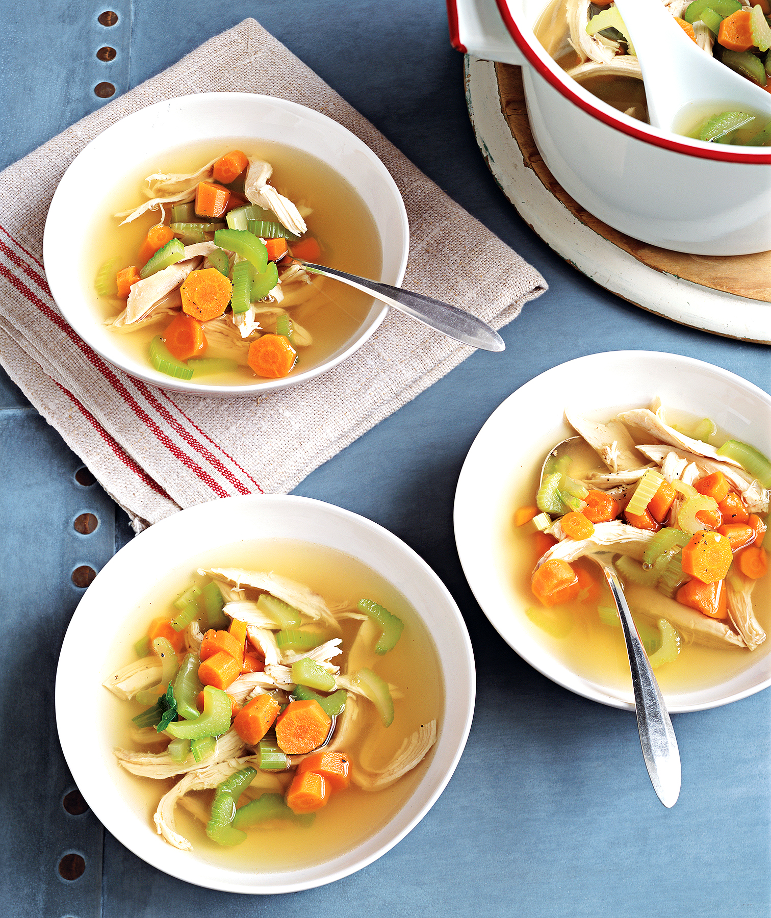 Classic chicken soup recipe real simple classic chicken soup forumfinder Image collections