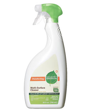 Seventh Generation Disinfecting Multi-Surface cleaning spray