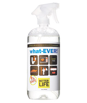 Better Life What-Ever! cleaning spray