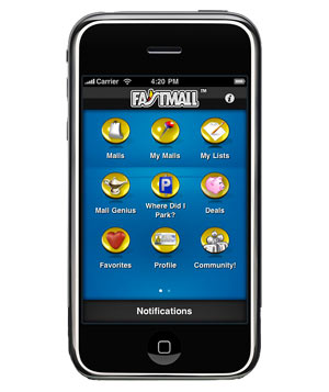 FastMall iPhone app