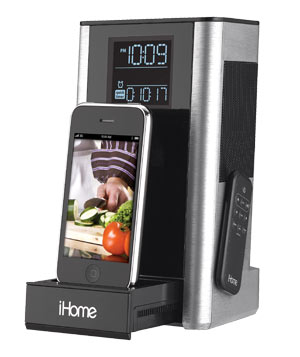 iHome iP39 Kitchen Timer and Charging Station