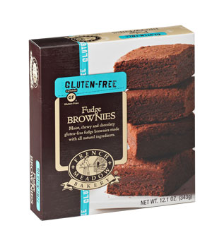 French Meadow Bakery Gluten-Free Fudge Brownies