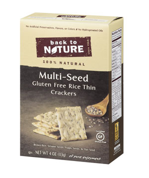Back to Nature Multi-Seed Gluten-Free Crackers