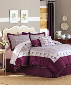 Better Homes and Garden Quatrefoil Comforter Set
