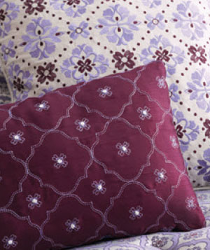 Better Homes and Garden Quatrefoil Square Pillow