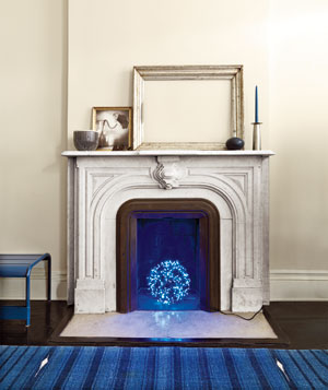Dress Up An Unused Fireplace Real Simple