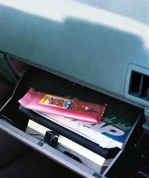 9. Is it OK to store sunscreen or a lip balm with SPF in a glove compartment?