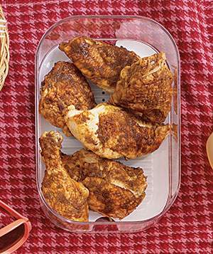 Spiced Cold Chicken