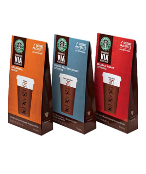 Starbucks' VIA Ready Brew