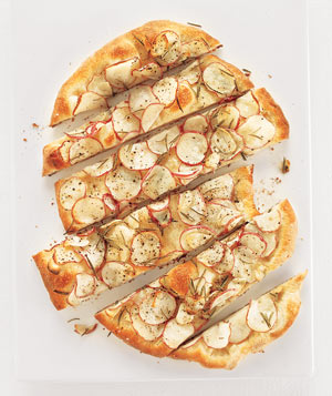 Potato and Rosemary Flat Bread