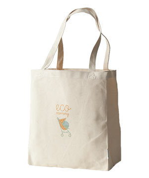 Eco Mommy Recycled Tote by Anvil