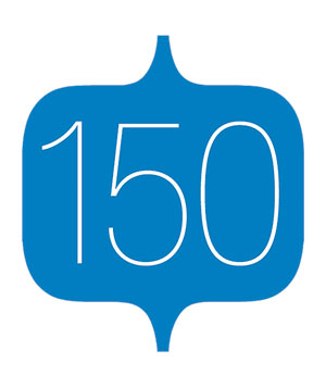 Illustration of the number 150