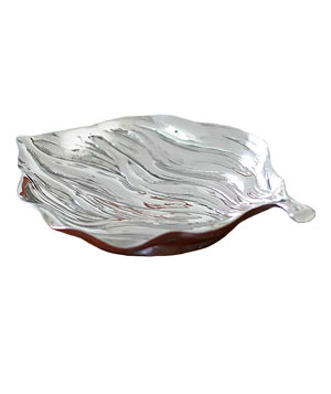 Sweet Autumn Aluminum Tray by artist Mercedes Lopes