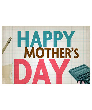 Math Mother's Day E-card