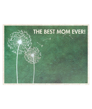 Watercolor style Mother's Day  ecard