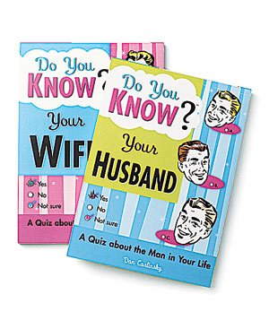 Newlywed Quiz Books