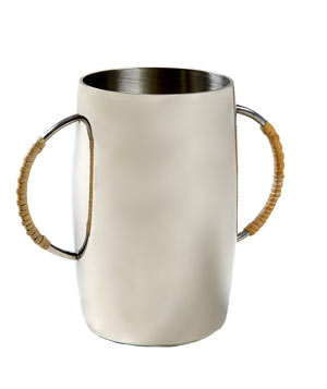 Mercury Collection Pewter Rattan Tumbler by Waterworks