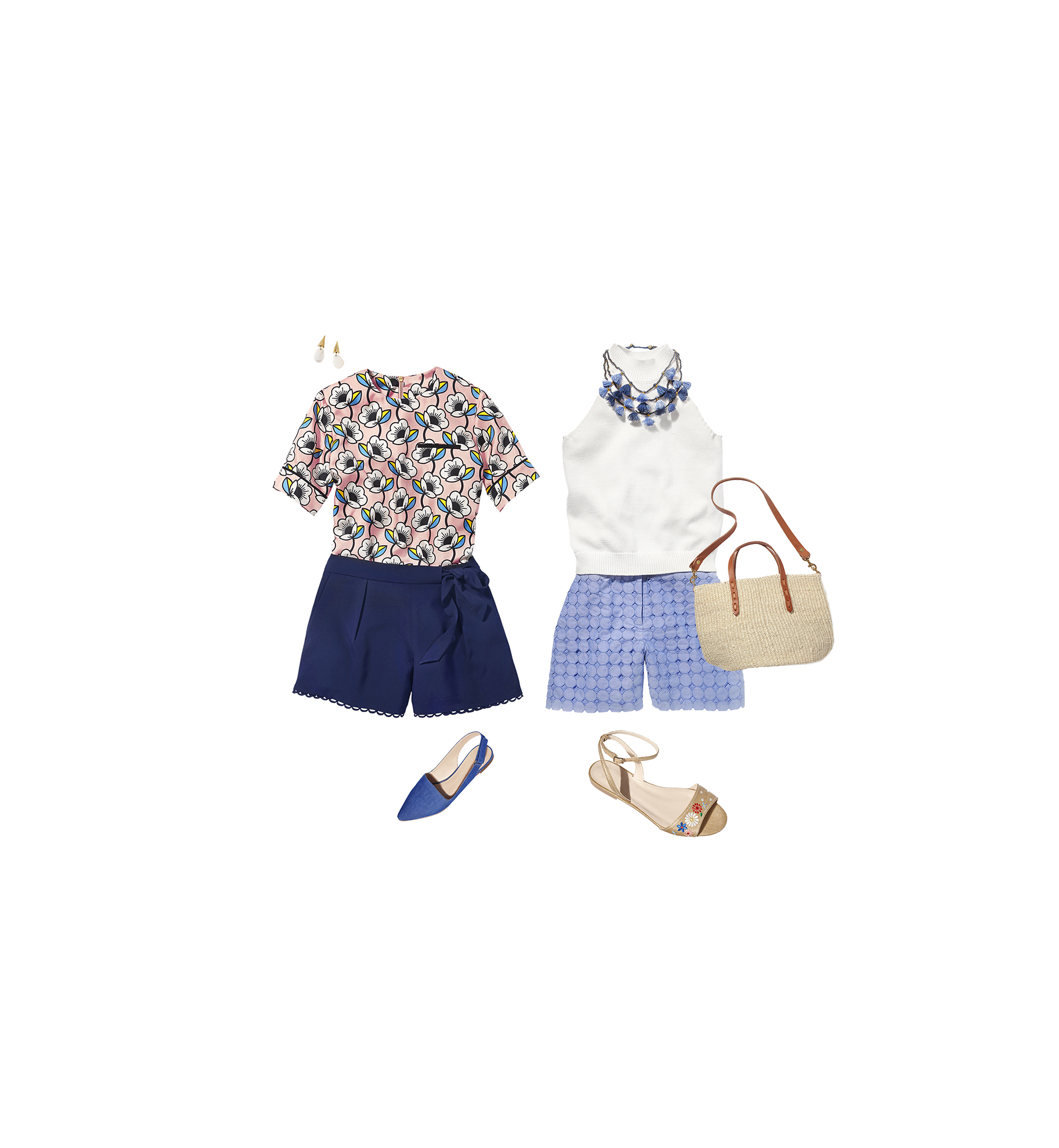Midthigh-Length Shorts Outfits