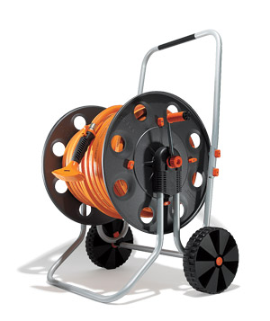 Metal Gemini Hose Reel by Claber