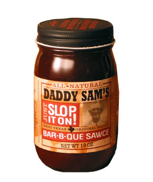Daddy Sam's Original Bar-B-Que Sawce