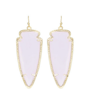 Kendra Scott Skylar Earrings in Lilac