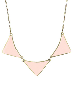 Brandy Pham Arrows & Moons 3 Arrow Necklace