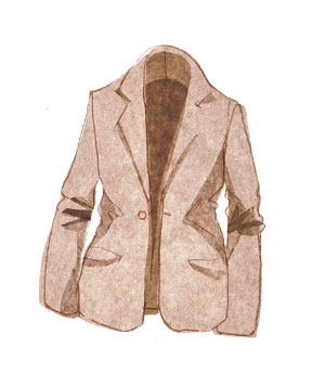 Illustration of a jacket
